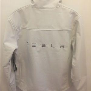 NWT White Tesla Jacket